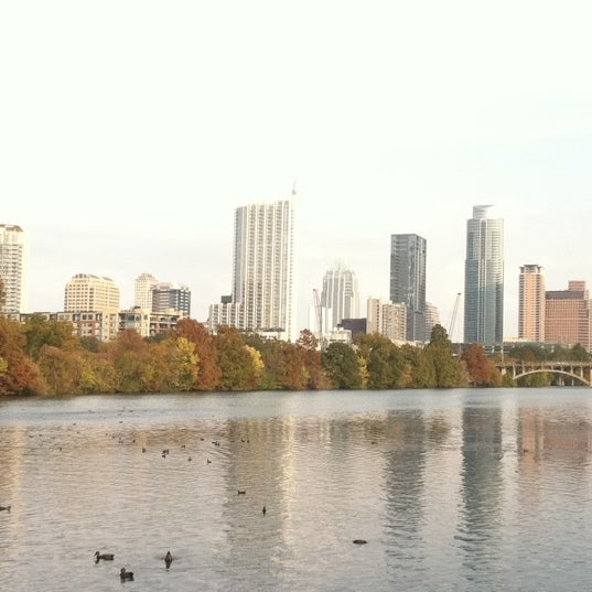 Photo taken at Lady Bird Lake Trail by Sterling M. on 11/14/2011