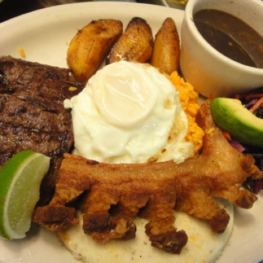 The Bandeja Paisa is the specialty dish