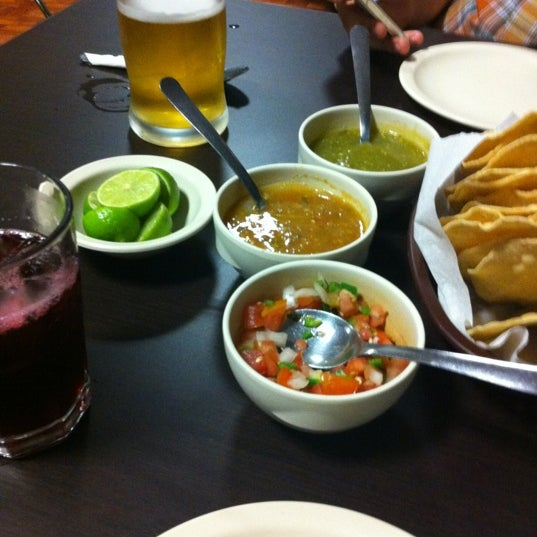 Photo taken at Pozole y Tacos Regios by Pablo M. on 5/26/2012