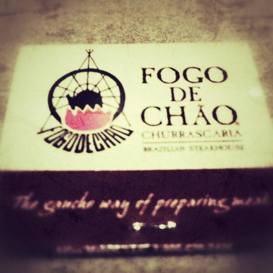 Photo taken at Fogo de Chão Churrascaria by chris F. on 4/16/2012