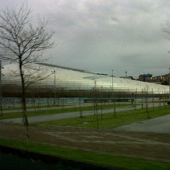 Photo taken at Palacio de los Deportes by Arianna S. on 4/6/2012