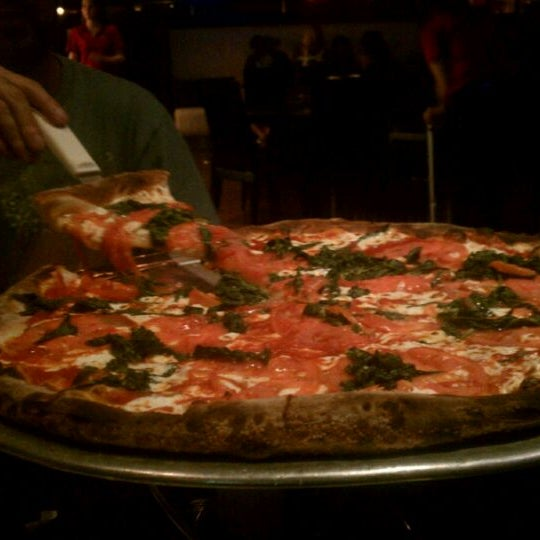 Photo taken at Scarfone's Coal Fire Pizza by Veronica S. on 9/6/2011