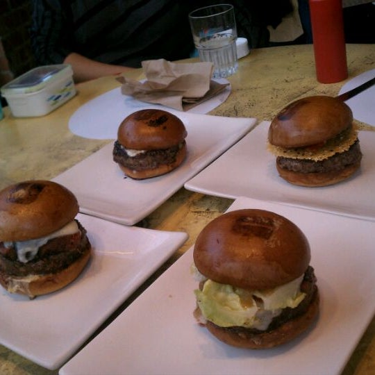 Photo taken at Umami Burger by Julian N. on 5/29/2011