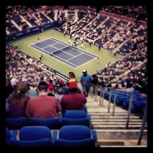 Photo taken at US Open Tennis Championships by Eric E. on 9/3/2012
