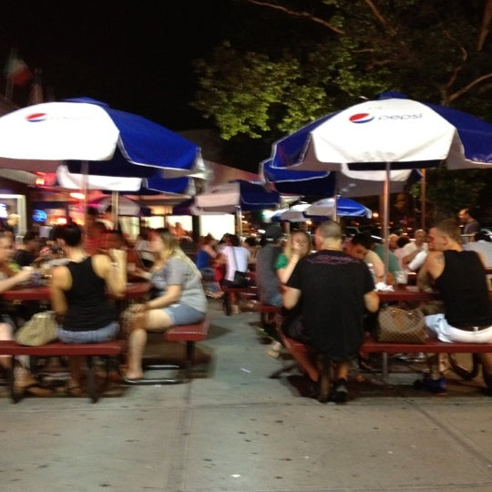 Photo taken at L&B Spumoni Gardens by Lucia D. on 6/21/2012