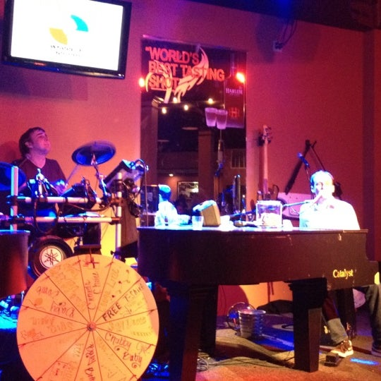 Photo taken at Baby Grands Dueling Pianos by Mary C. on 1/15/2012