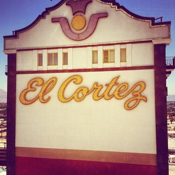Photo taken at El Cortez Hotel & Casino by Frank G. on 7/10/2012