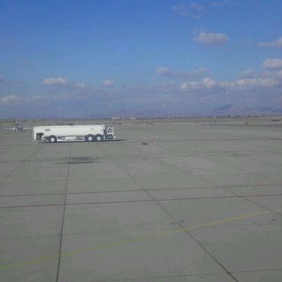 Photo taken at Phoenix-Mesa Gateway Airport (AZA) by R M. on 12/4/2011