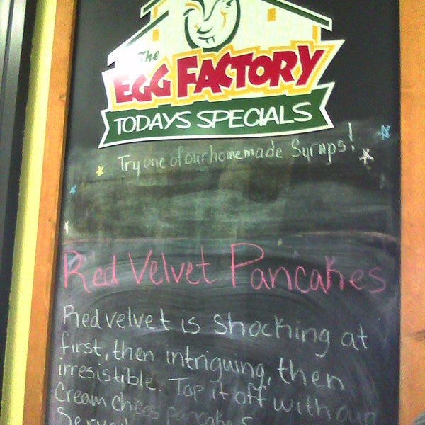 Photo taken at The Egg Factory by Lauren K. on 5/27/2011