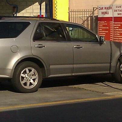 Photo taken at Handy J Car Wash by Angie G. on 1/6/2012