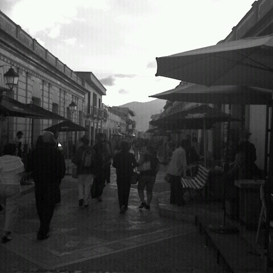 Photo taken at Andador Real de Guadalupe by San Cristobal E. on 8/6/2012