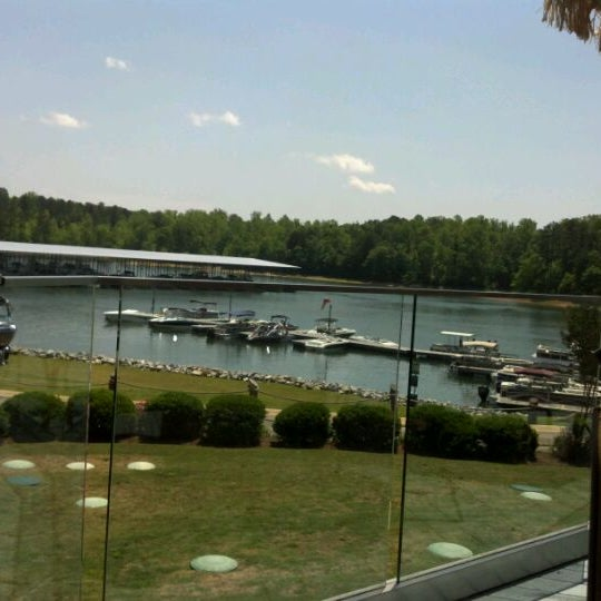 Photo taken at Fish Tales Lakeside Grille by Ed G. on 5/5/2012