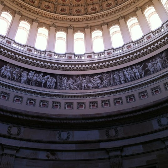 Photo taken at Rotunda of the U.S. Capitol by Lawrence B. on 10/21/2011
