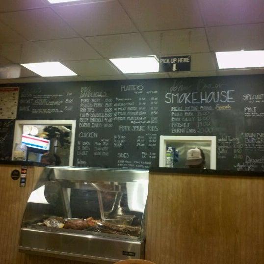 Photo taken at John Brown Smokehouse by Damond R. on 11/12/2011