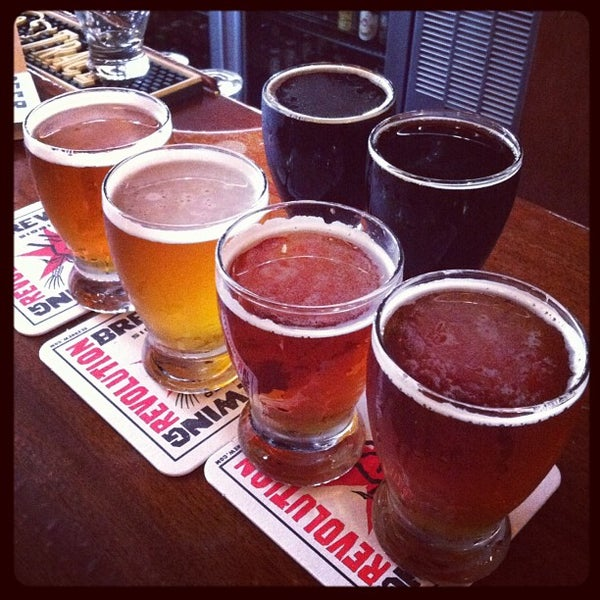 Photo taken at Revolution Brewing by Bill S. on 8/30/2012