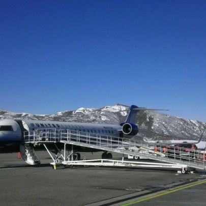 Photo taken at Aspen/Pitkin County Airport (ASE) by Jenny D. on 1/28/2012