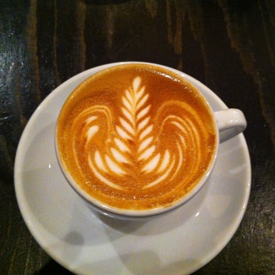 Photo taken at Flat White by John S. on 5/3/2012