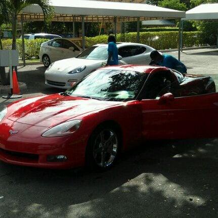 Photo taken at Karma Car Wash by Omar S. on 10/20/2011