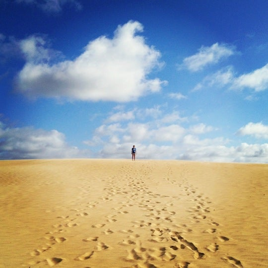 Photo taken at Jockey's Ridge State Park by Chelsea on 6/16/2012