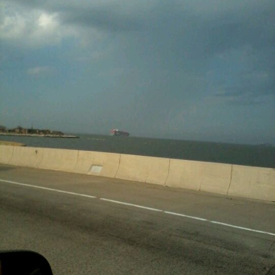 Photo taken at HRBT by Jenn O. on 3/20/2012