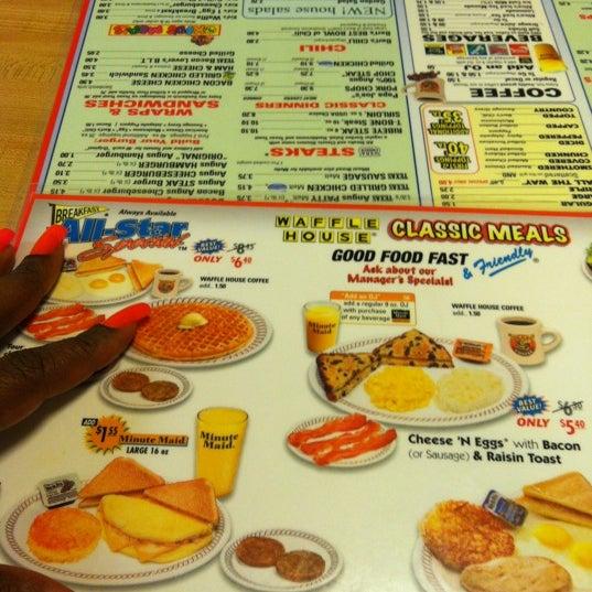 Photo taken at Waffle House by Cori M. on 6/10/2012