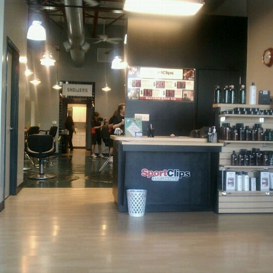 Photo taken at Sport Clips by Marcus C. on 6/30/2011