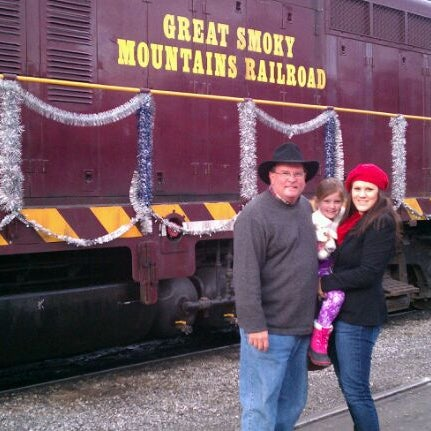 Photo taken at Great Smoky Mountain Railroad by Boots and Bandana G. on 12/24/2011