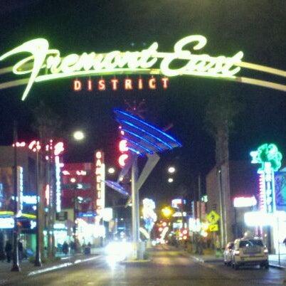 fremont east entertainment district downtown las vegas las vegas