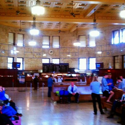 Photo taken at Union Station Amtrak (PDX) by Bob E. on 6/8/2011