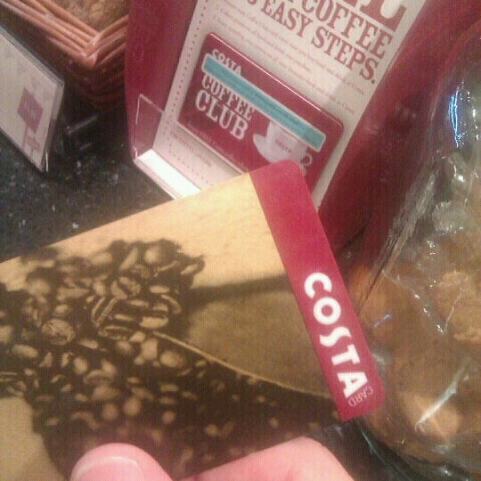 Photo taken at Costa Coffee by James J. on 7/7/2012