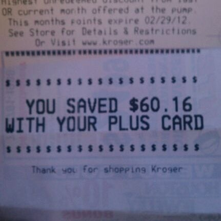 Photo taken at Kroger by Terrence H. on 1/2/2012