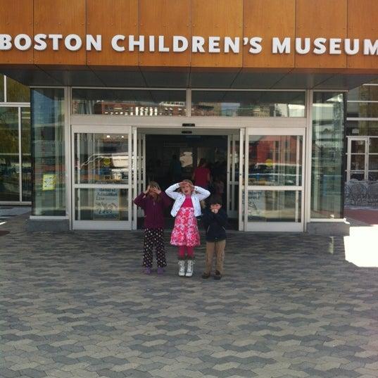 Photo taken at Boston Children's Museum by Steve S. on 4/13/2012