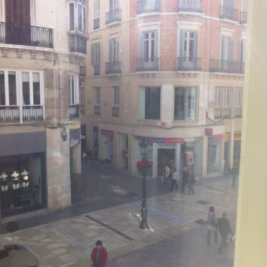 Photo taken at Hotel Room Mate Larios by Marivi R. on 3/13/2012