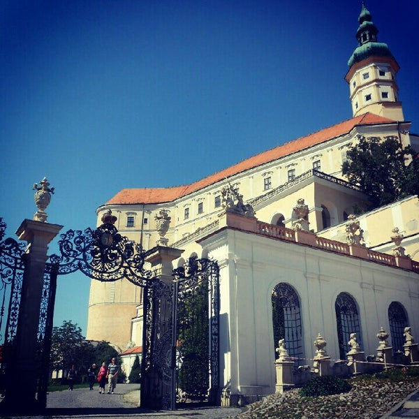 Photo taken at Zámek Mikulov by Zdenka P. on 7/23/2012