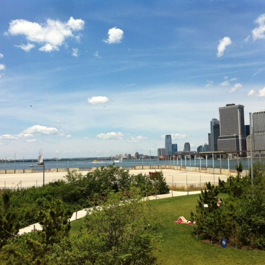 Photo taken at Brooklyn Bridge Park - Pier 6 by Jase on 6/25/2012