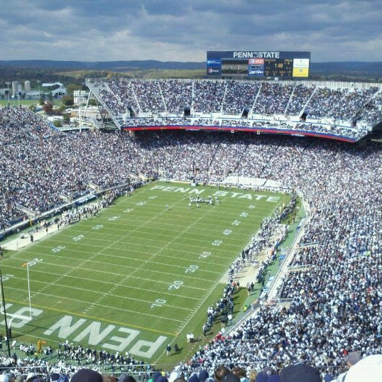 Photo taken at Beaver Stadium by Chad W. on 10/15/2011