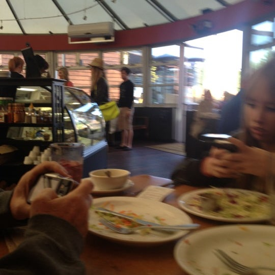 Photo taken at Native Foods by Bonnie B. on 3/12/2012