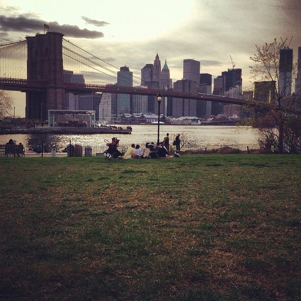 Photo taken at Brooklyn Bridge Park - Pier 6 by Manny B. on 4/15/2012