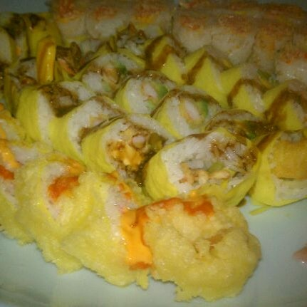 Photo taken at Sushi On The Rocks by Jason B. on 9/14/2011