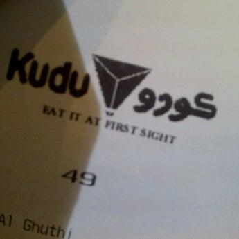 Photo taken at Kudu by kurniawan a. on 11/26/2011