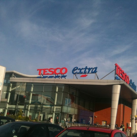 Photo taken at Tesco by Chris C. on 7/23/2011