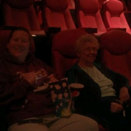 Photo taken at Frank Theatres - Queensgate Stadium 13 by Dan F. on 10/13/2011