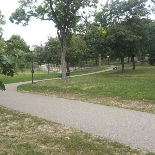 Photo taken at Loring Park by Jason T. on 8/23/2012