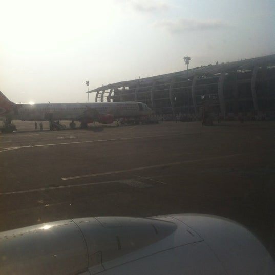 Photo taken at Dabolim Goa International Airport (GOI) by Gaurav B. on 4/20/2012