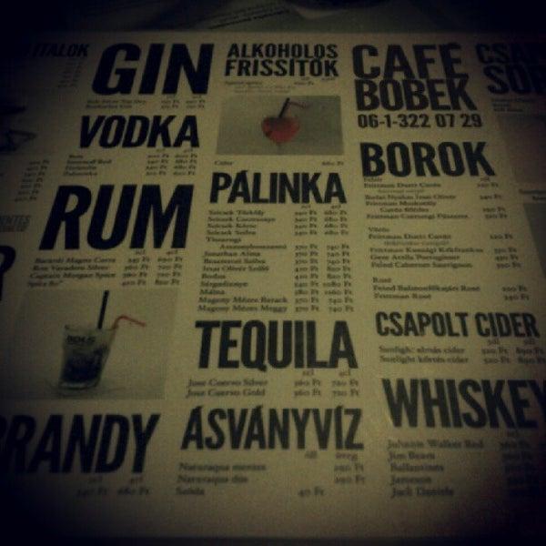 Photo taken at Bobek Cafe by Mate N. on 6/27/2012
