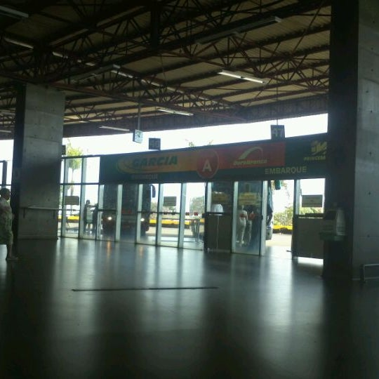 Photo taken at Terminal Rodoviário José Garcia Villar by Erickson N. on 1/5/2012