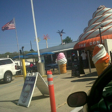 Photo taken at The Cone by Anthony S. on 8/30/2012