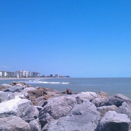 Photo taken at South Jetty / Humphris Park by Lorene 'n S. on 6/28/2012