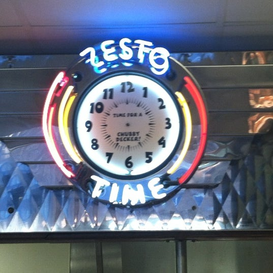 Photo taken at Zesto Drive-Ins by Zesto A. on 5/16/2012