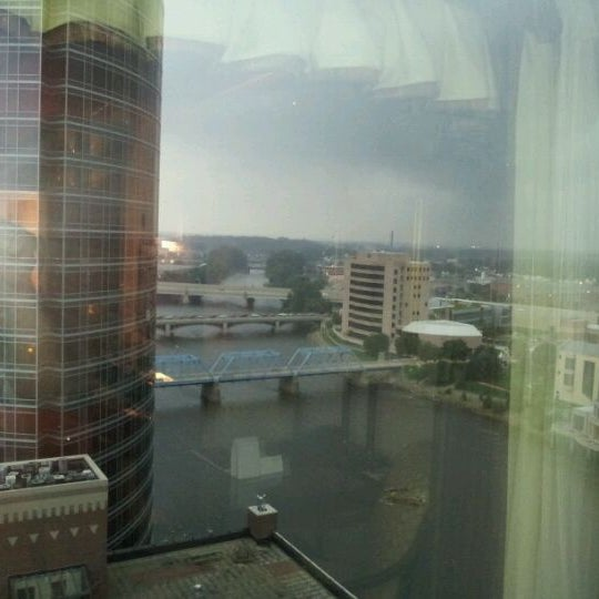 Photo taken at Amway Grand Plaza Hotel by Larry S. on 8/20/2011